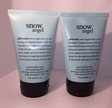 2PHILOSOPHY Snow Angel  Sweetly Fallen Snow BODY POLISHING SCRUB Exfoliant  4 Oz