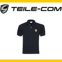ORIG. Porsche Herren Polo Shirt Schwarz Größe L 50 52 Wappen 911 993 996 997 991