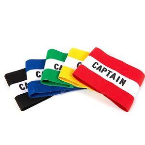 Captains Armband for Football, Rugby, Hockey. Adult Senior/Kids - UK Seller