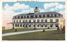 1920's Spring House Hotel Block Island RI post card