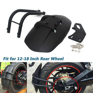 12''-18'' Motorcycle Rear Wheel Fender Mudguard Protect Splash Universal Durable