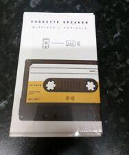SuckUK Cassette Portable Bluetooth Speaker Wireless Portable Speaker 1980s Style