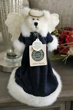 Boyds Bears ANGELIQUE ANGELFROST Christmas Tree Topper BLUE # 744110-06