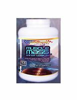 LuckyLand Muscle Mass Gainer Complex - 5 Lb jar, chocolate flavor. Gluten-Free.