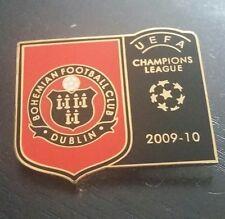 Bohemios UEFA Champions League de Metal Pin Insignia Irlanda Irlandés de fútbol