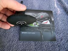 New Callaway Optfit Golf Torque Wrench Tool w/Instructions