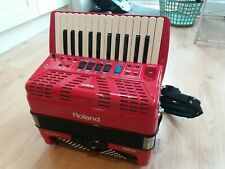 Roland FR 1X digital accordion immaculate with gig bag 2 sets of batteries