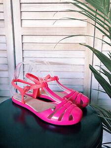 Melissa Pink Sandals, Flats, Size Eur 37