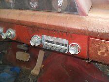 1963 buick special convertible dash column instrument panel radio