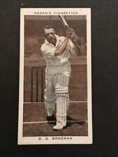 DON BRADMAN : Ogden Prominent Cricketers of 1938 #38 Cond VG