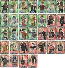 Lego Star Wars Trading Cards Serie 1 - alle 32 Folien Karten komplett Set