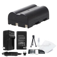 NP-400 Battery + Charger + BONUS for Minolta Maxxum 5D 7D