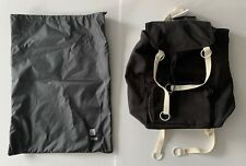 raf simons BLACK + CREAM large eastpak backpack bag NEW