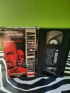 American History X VHS
