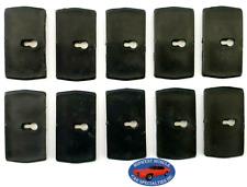 74-90 GM NOSR Cadillac Chevy Oldsmobile Rear Window Moulding Trim Clips 10pcs B