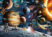 1000 Pcs Jigsaw Puzzle Astronaut in Colorful Universe Adult Kid Educational Toys