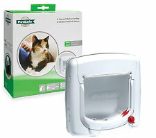 Staywell Petsafe 300 4 Way Locking Flap Cat Door Suitable UPVC Or Glass TT