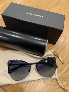 Authentic Bvlgari Sunglasses BV6096 2020/4L Worn Once