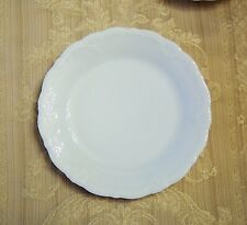 """Hutschenreuther Baronesse White Bread & Butter Plate(s) 6 7/8"""", new Rosenthal"""