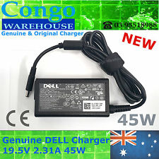 Original 45W 19.5V 2.31 Adapter Charger Power For Dell XPS 12 13 9343 9350 13D