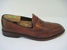Allen Edmonds Melrose Brown Leather Penny Loafers Shoes Men Size 9 D
