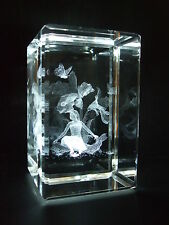 Crystal Images Iris Flower Fairy Laser 3605 Crystal