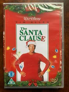 The Santa Clause DVD 1994 Walt Disney Comedy Movie w/ Tim Allen BNIB