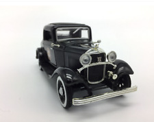 1/32 Scale Black Ford 1932 Classic Old Car Diecast Alloy Model Car Collection