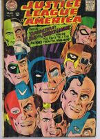 Justice League of America #61 ORIGINAL Vintage 1968 DC Comics