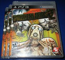 Lot of 3 Borderlands 2 Sony PlayStation 3 *Factory Sealed! *Free Shipping!
