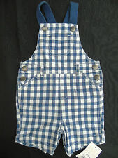 Checked Dungarees (0-24 Months) for Boys