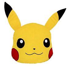 "Nintendo Pokemon Pikachu Head 16"" in Soft Plush Cushion Pillow Licensed - NEW"
