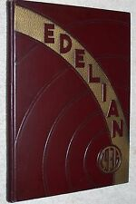 1936 Libbey High School Yearbook Annual Toledo Ohio OH - Edelian