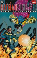 BATMAN PUNISHER LAKE OF FIRE NEAR MINT 1994 ONE SHOT DC versus MARVEL
