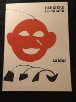 Derriere Le Miroir 221 December 1976 Alexander Calder Maeght Editeur Complete