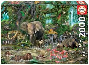 Educa 2000 Piece Jigsaw Puzzle - African Jungle
