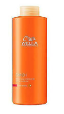 Wella Professionals Enrich Moisturizing Conditioner 33.8 oz / Liter fine normal