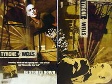TYRONE WELLS Hold On RARE New PROMO 2 Sided Poster MINT