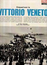 GA12 Clipping-Ritaglio 1968 Cinquant'anni fa Vittorio Veneto quarta IV° puntata