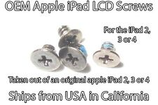 iPad 2, 3 or 4 LCD Screws (set of 4) OEM out of an original Apple iPad