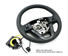 Genuine Leather Heated Steering Wheel + CLOCK SPRING FOR Kia 2011+ Optima K5