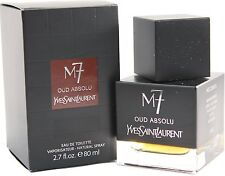 M7 OUD ABSOLU 2.7 OZ EDT SPRAY FOR MEN BY YVES SAINT LAURENT & NEW IN A BOX