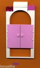 Lego--3644--Türe mit Rahmen--pink--1x4x6--Schloss-Prinzessinen-Ersatzteil-
