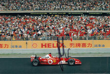 Gerhard Berger Hand Signed Ferrari Photo 12x8 1.