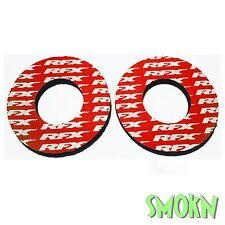 Rfx Mango Manubrio Donuts anti-blister almohadillas Husqvarna Wr Wre 125 250 300 360 Rojo