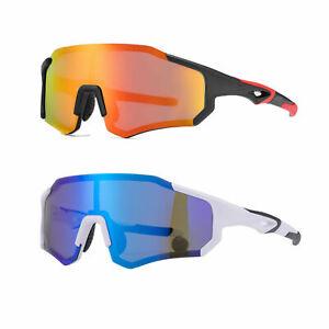 ROCKBROS Cycling Polarized Sunglasses Bike Full Frame Glasses UV400 Goggles US