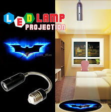 3D Blue Batman Logo Projection Bar/Hotel/Shop Atmosphere LED Light E26 E27 Lamp