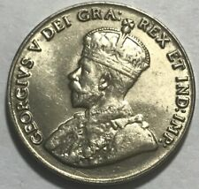 CANADA - George V - 5 Cents - 1929 - Km-29 - Choice Brilliant Uncirculated!