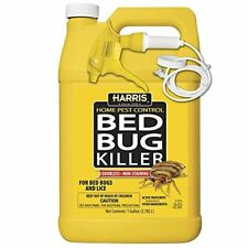 Harris Bed Bug Killer, Spray with Odorless and Non-Staining Residual (Gallon)