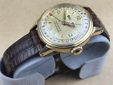 MOVADO Solid 14k Calendomatic Triple Date Vintage Watch - Very Nice